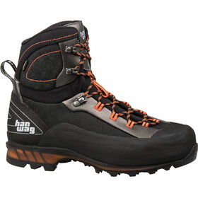 Hanwag Ferrata II GTX Schoenen Heren, black/orange
